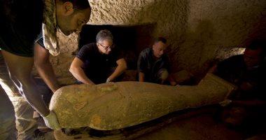 السياحة والآثار تعرض فيديو لملامح الكشف الأثرى الجديد بسقارة