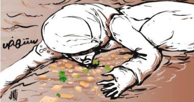 كاريكاتير.. السودان يبكى على الأرض بسبب الفيضانات
