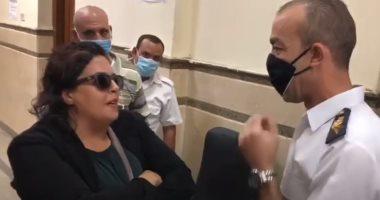 """جنح النزهة تؤجل محاكمة """"سيدة المحكمة"""" لجلسة 30 سبتمبر للإطلاع"""