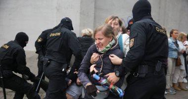 الداخلية البيلاروسية تعلن اعتقال أكثر من 500 شخص فى احتجاجات اليوم