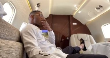 محمد رمضان يعود لمصر بطائرة خاصة بعد رحلته الأخيرة فى دبى.. فيديو