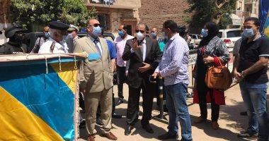مساعد وزير الداخلية ومدير أمن القليوبية يتفقدان لجان انتخابات الشيوخ
