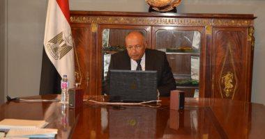 وزير الخارجية يؤكد على موقف مصر الثابت من القضية الفلسطينية