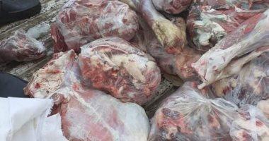 ضبط 4 أطنان سجق ولحوم فاسدة داخل مصنع بعين شمس
