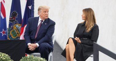 ميلانيا ترامب تخطف الأنظار بفستان أسود حزنا على ضحايا 11 سبتمبر.. صور