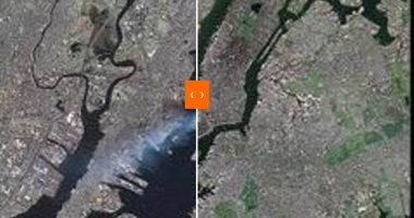 ناسا تشارك فى ذكرى أحداث 11 سبتمبر بصور من الفضاء