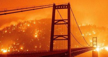 الحرائق المستعرة تجبر السكان على إخلاء منازلهم فى الأرجنتين