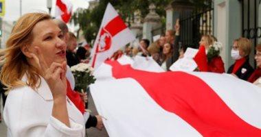 مسيرة سلمية نسائية في العاصمة البيلاروسية للمطالبة برحيل لوكاشينكو