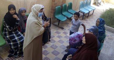 """""""التوعية أفضل من العزل"""" حملة القومى للمرأة بشمال سيناء لمواجهة كورونا.. صور"""