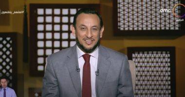 """رمضان عبد المعز يتحدث عن مكانة الأخلاق فى الإسلام """"فيديو"""""""