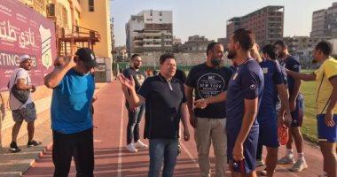 رضا عبدالعال يقود تدريبات طنطا استعدادا لمواجهة نادي مصر بالدوري