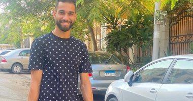 """عمرو السولية مع ابنته في أول يوم مدرسة: """"ربنا يحميكى يا روح بابا"""".. صور"""