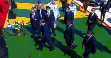 الرئيس السيسى يصل مقر افتتاح مشروعات تعليمية جديدة بالإسكندرية