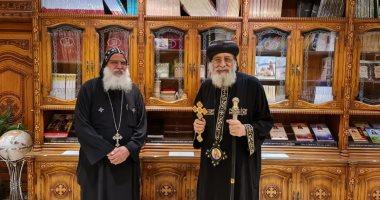 البابا تواضروس يبحث وضع الكنيسة القبطية فى العراق