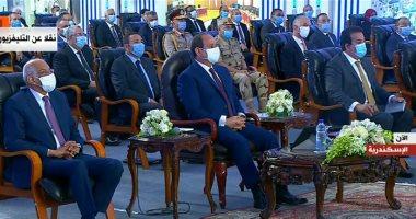 الرئيس السيسي يفتتح عددا من المنشآت التعليمية عبر الفيديو كونفرانس
