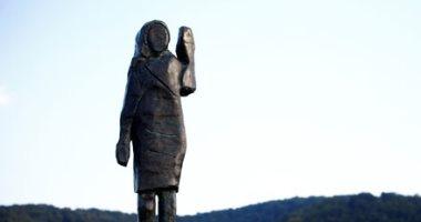 تمثال من البرونز النقى لتكريم ميلانيا ترامب فى سلوفينيا