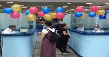 وصول أول طائرة من أرمينيا لمطار شرم الدولى بعد توقف 6 أشهر بسبب كورونا.. صور