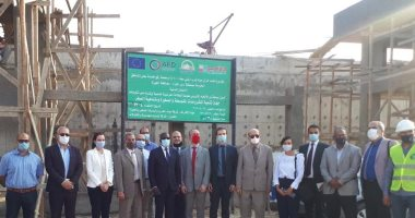 وفد فرنسى يزور مشروعات بنية أساسية ينفذها جهاز تنمية المشروعات مع محافظة الجيزة