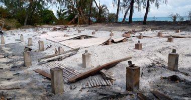"""داعش تدمر """"جزر الجنة"""" بعد استضافتها رونالدو ومانديلا وجيمس بوند .. صور"""