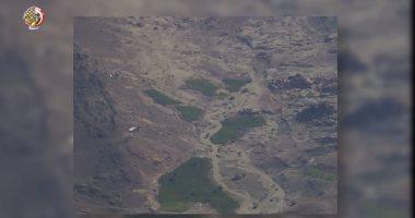 القوات المسلحة تقضي على 234 طنا من الزراعات المخدرة في جنوب سيناء