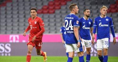 جمال موسيالا أصغر لاعب يسجل لبايرن ميونخ فى الدوري الألماني اليوم السابع