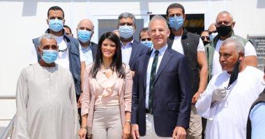 سفير واشنطن يؤكد مساهمة بلاده بأكثر من مليار دولار لتطوير الزراعة بمصر.. صور
