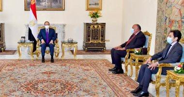 متحدث الرئاسة: رسالة خطية من رئيس الكونجو إلى السيسى