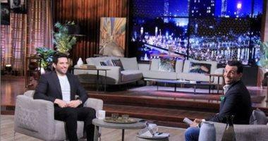 حسن الرداد يوجه رسالة لـ رامى رضوان بعد استضافته فى برنامج مساء dmc