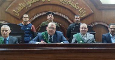 """الحكم على قاتل ابنة عمه وطفليها بقضية """"مذبحة كفر الدوار"""" بعد قليل"""