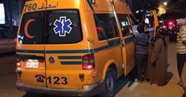 ارتفاع عدد المتوفين لـ4 وإصابة 9 أشخاص فى حادث تصادم مينى باص وتوك توك بالبدرشين