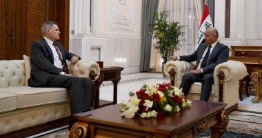 برهم صالح يبحث مع سفير واشنطن ببغداد التطورات الإقليمية والدولية