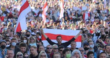 صور.. المحتجون في روسيا البيضاء يواصلون الضغط على الرئيس لوكاشينكو