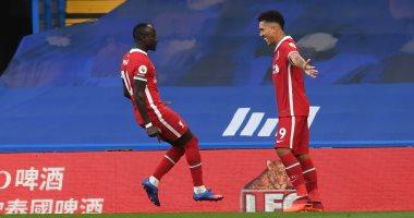 فيرمينو يحرز هدف تعادل ليفربول ضد شيفيلد بالدقيقة 41.. فيديو