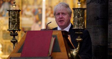 بوريس جونسون يشارك فى قداس الأحد لإحياء ذكرى أبطال معركة بريطانيا قبل 80 عاما