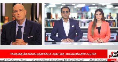 """عماد أديب لتليفويون اليوم السابع: أردوغان تراجع عندما رأى """"العين الحمرا"""" من مصر"""