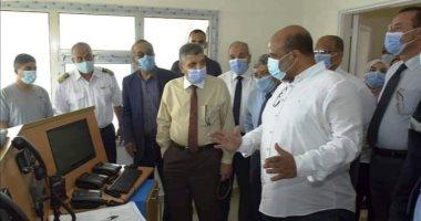 رئيس هيئة قناة السويس يتابع تطوير مراقبة الملاحة بالدفرسوار وطوسون.. صور