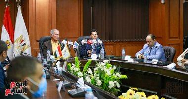 وزير الرياضة يؤكد اهتمام الرئيس السيسي بمونديال اليد مصر 2021