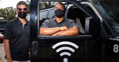 """""""مركبات إنترنت"""" لمساعدة فقراء كاليفورنيا فى الدراسة عن بُعد.. صور"""