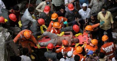 مصرع 8 أشخاص على الأقل فى انهيار مبنى بمدينة مومباى الهندية