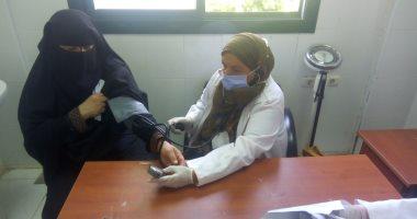 توقيع الكشف الطبى على 41 ألف مواطن فى مبادرة 100 مليون صحة بالوادى الجديد