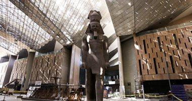 المتحف المصرى الكبير: نقل مركب الملك خوفو قطعة واحدة وإجراء تجارب تأمين النقل