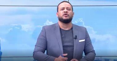 مذيع قناة مكملين الارهابية