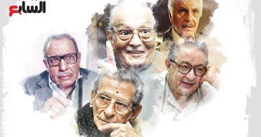 """أشهر 10 فنانين نالوا لقب """"الأستاذ"""".. إنفوجراف"""