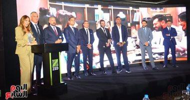 نجيب ساويرس يعلن خطة تطوير الرياضة فى مشروع زد بحضور نجوم الرياضة.. صور