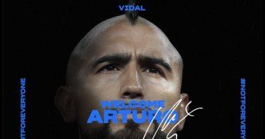 الإنتر يعلن ضم أرتورو فيدال من برشلونة لمدة موسمين
