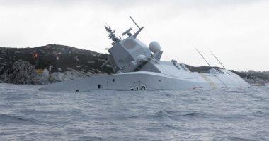اصطدام فرقاطة روسية مع سفينة شحن سويدية بالقرب من جسر أوريسند فى الدنمارك