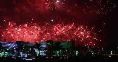 السعودية نيوز |                                              أجواء مبهجة.. 10 صور ترصد احتفالات السعوديين باليوم الوطنى الـ 90