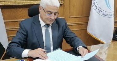 اللواء جمال عوض - رئيس الهيئة  القومية للتأمين الإجتماعي