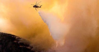 إخلاء مستشفى ومئات المنازل شمال كاليفورنيا بسبب حرائق الغابات