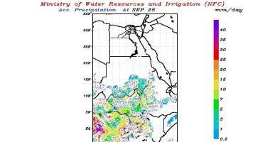 تعرف على حالة الطقس اليوم الجمعة على منابع نهر النيل